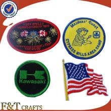 Custom iron on brand / logo patch embroidery for clothes / sleeve