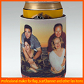 family photo print single beer cooler