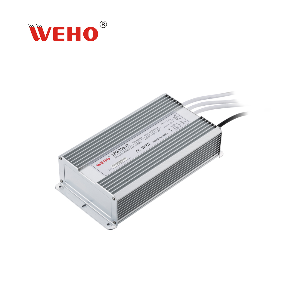 250w 12v waterproof led switching power supply
