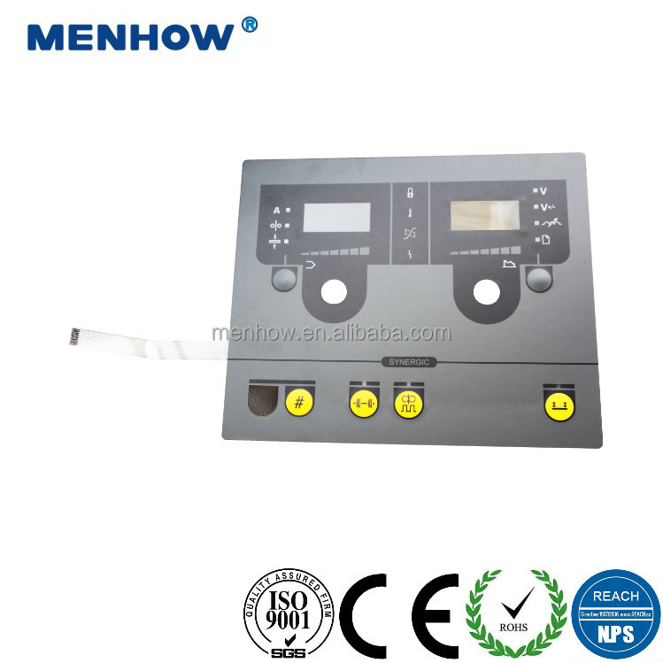 membrane switch with metal domes small keypad touch membrane switch