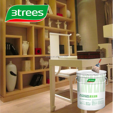 3TREES Super Tough Scratch Resistance PU Lacquer Clear Transparent Finish For Furniture