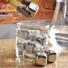 LFK Stainless Steel Ice Cube -Cooling Ice Whiskey Stones for wine