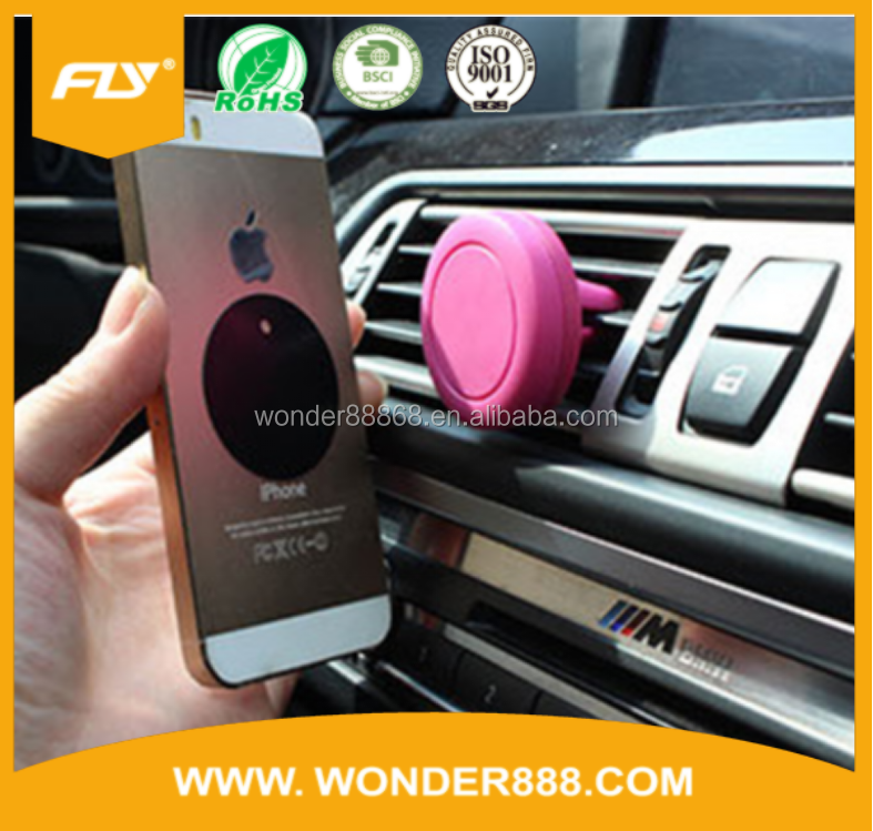 OEM Universal Factory Price car holder magnetic air vent mount 360 degree rotating magnetic phone holder