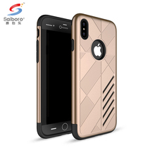 Latest high quality tpu pc phone case for iphone 8 hard hybrid case