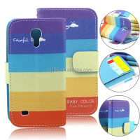 For Samsung Galaxy S4 Mini I9190 Leather Flip Case Wholesale