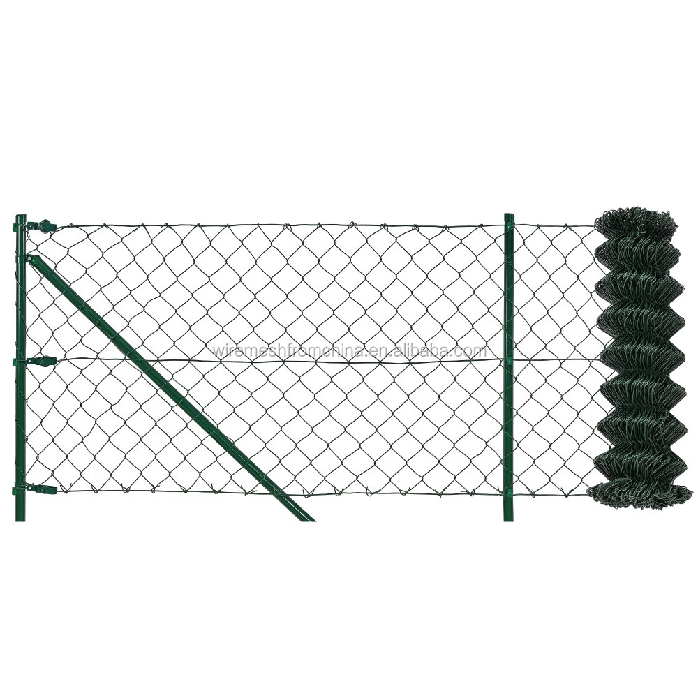 15m length 125cm garden decorative chain link fence panels