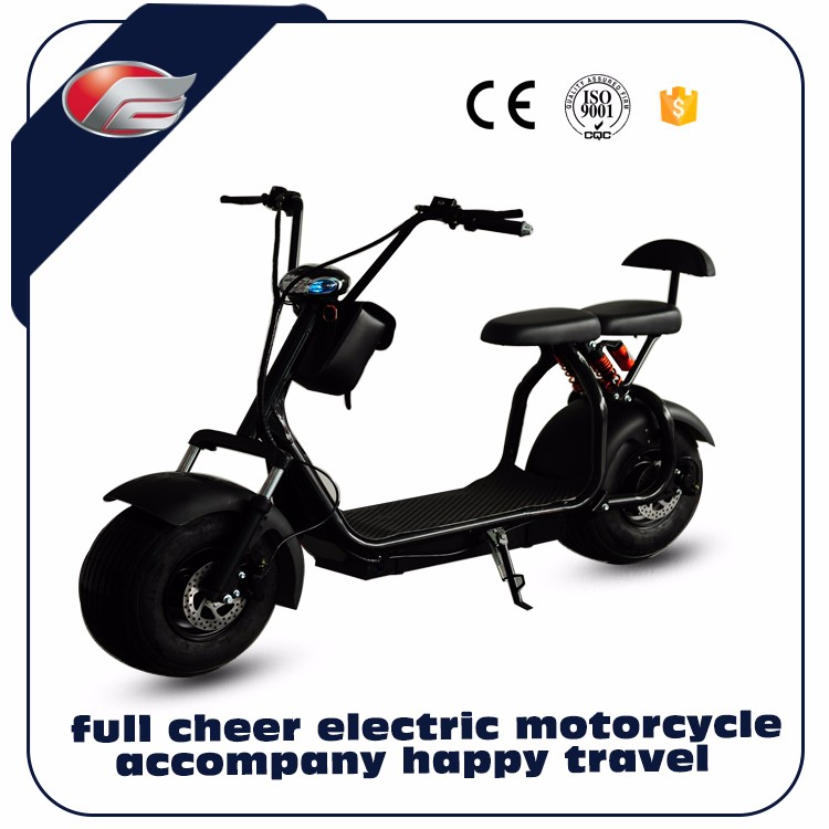 New Arrive 60V 1000W Citycoco 2 Wheel Harley Electric Scooter