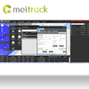 Meitrack sales tracking software for car gps tracker with google Maps MS03