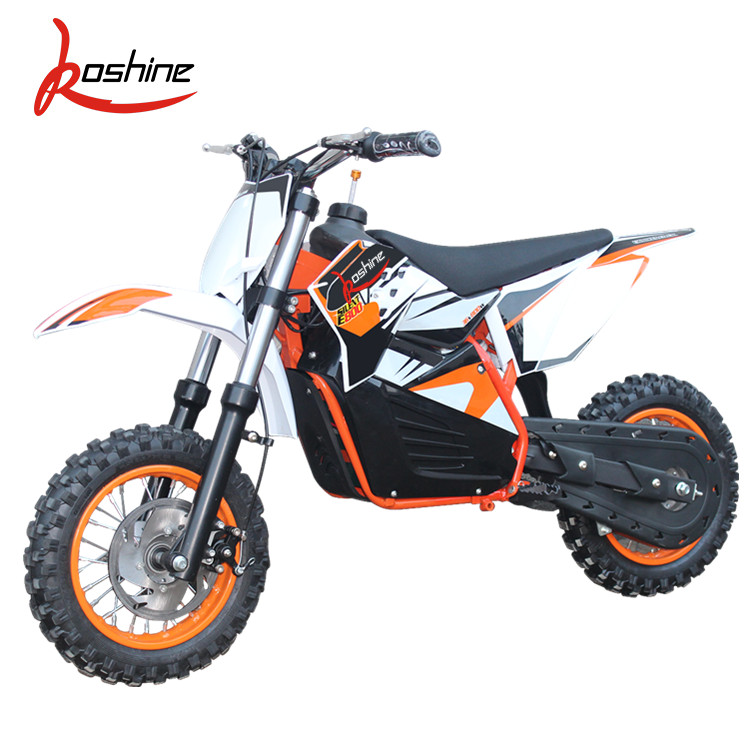 500W 800W 36V 48V electric start lead-acid battery kids electric dirt bike