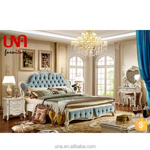 9912 wedding new french bedroom set country classic style furniture set