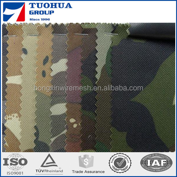 100% Cotton Ripstop Camouflage Waterproof Canvas Fabric for Truck Cover/Tents/Construction