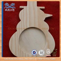 new wooden guitar-shape picture frame