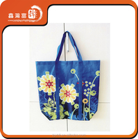 Best Price Foldable printing flower non woven Shopping Bag