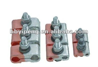 Bimetal type parallel groove clamp