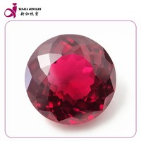 Best price synthetic red ruby gemstone from China manufacturer