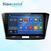 VW Passat 2015/2016 Android 2 Din Car Radio Audio Player Support GPS Navigation Bluetooth TPMS Mirror-Link DAB+