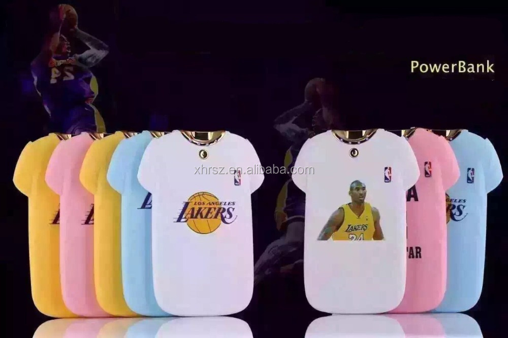 KOBE T-shirt Power bank 8000MAH