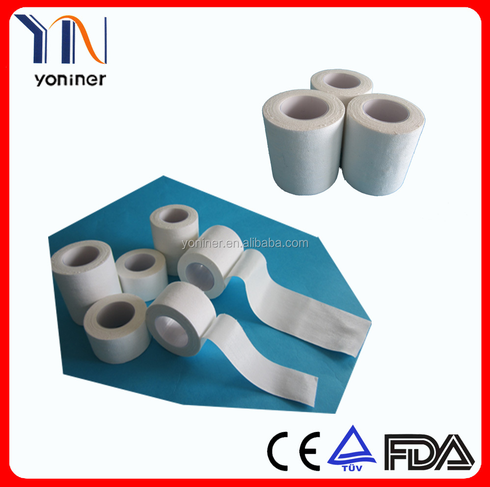 GOOD QUALITY Zinc Oxide Tape by CE/FDA/ISO Approved for medical