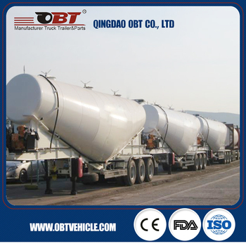 Dry bulk cement powder truck trailer for sale