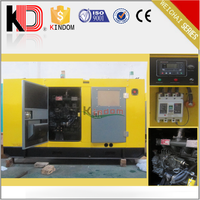 48KW 60KV Water cooled Open Soundproof Canopy Type Diesel Generator ot Weichai Engine