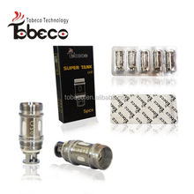 2016 Tobeco Subtank Mini Replacement Coils Wholesale Clapton Coils authentic tank coil with 0.1ohm/0.15ohm/0.2ohm/0.5ohm