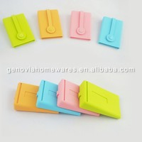 Professional silicone business card case with high quality