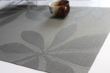 2017 eco-friendly coffee pvc placemat dining cheap vinyl christmas placemat oval table placemats