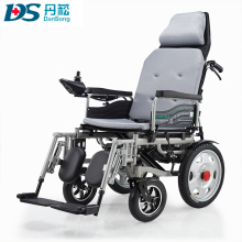 Reclining Lightweight Folding Power Electric Wheelchair