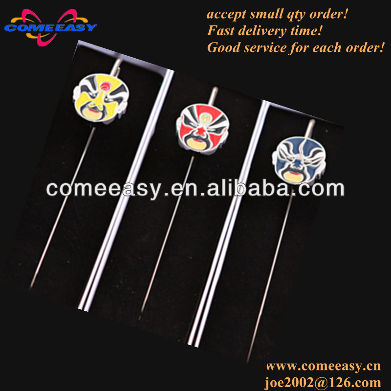 beijing opera mask souvenir metal bookmark wholesales