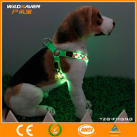 New 2016 factory China wholesale led dog harness