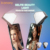 Diamond shinning clip on design Selfie Ring Light for all mobiles Led selfie light ring