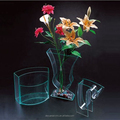 Hot sale! Various Design Acrylic Vase Wholesale with wholesale factory price