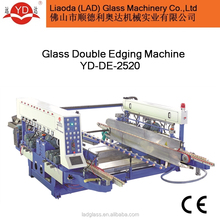 Automatic Glass Double Edging Polishing Machine / Horizontal glass double edger