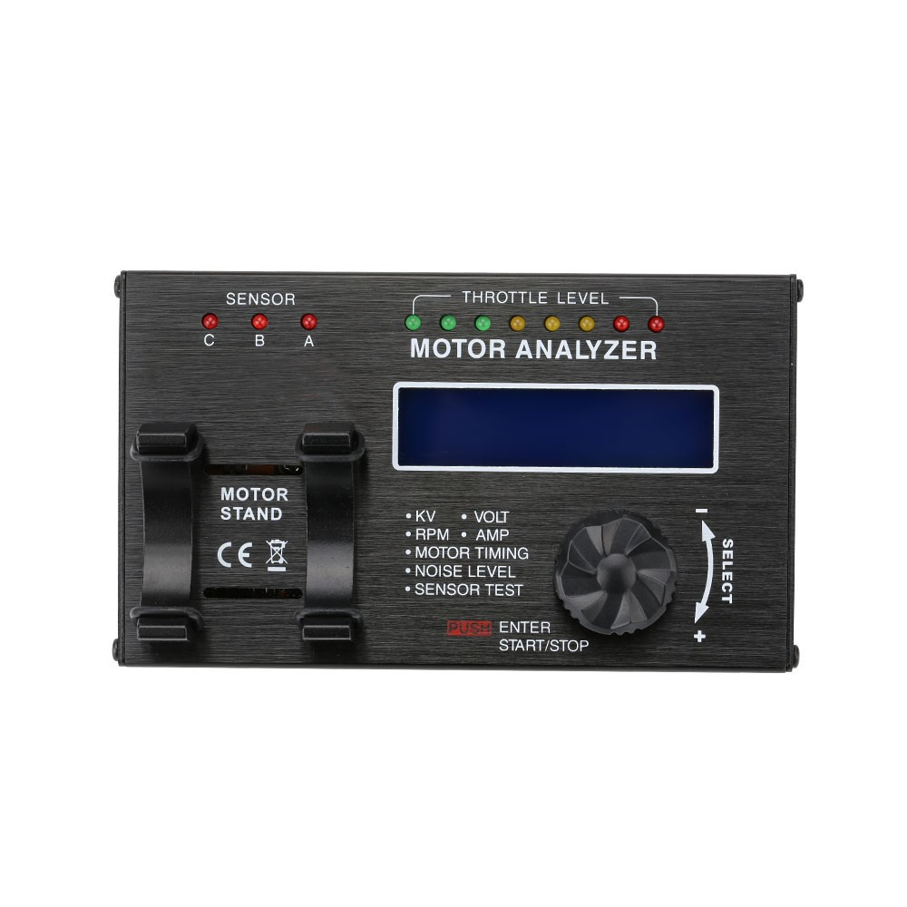 1061500020-Brushless Motor Analyzer with LCD Display Screen for RC Car Motor