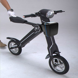 2015 Newest black color Et Foldable two wheel scooter electric