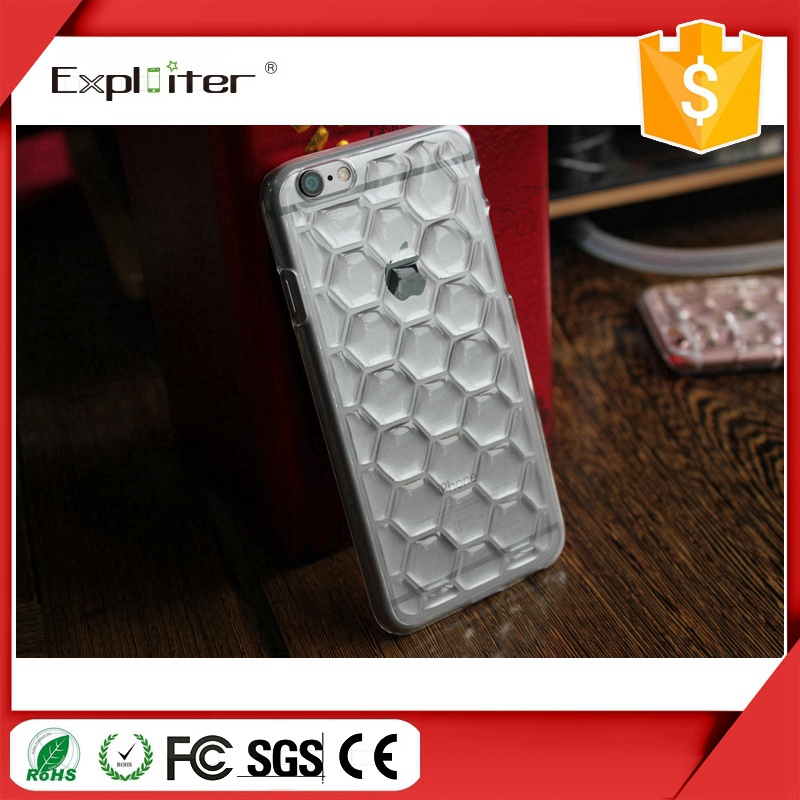 China Supplier Clear Ultra Thin 3D Mobile Phone Cover Casing