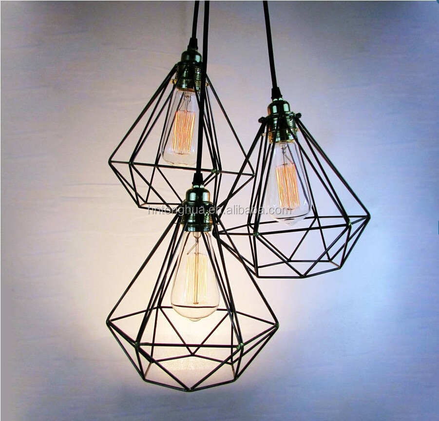 Wire Cage Guard Industrial Pendant Lamp Buy Wire Pendant
