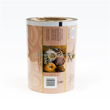 gravure soft plastic printed laminated packing materials fast food sealing film