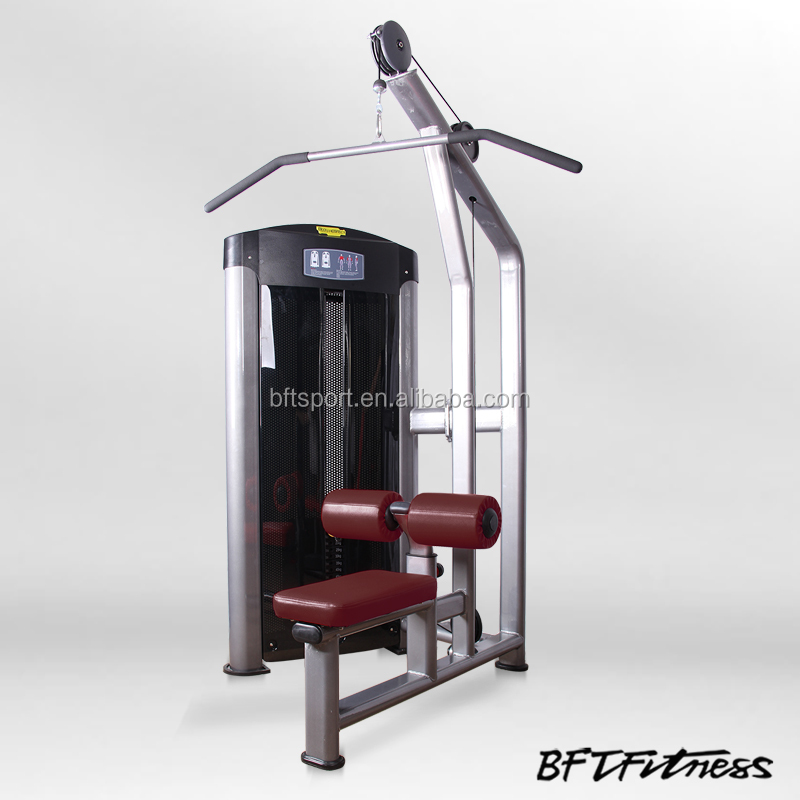 Commercial Lat Pulldown Back Exercise Gym Machine