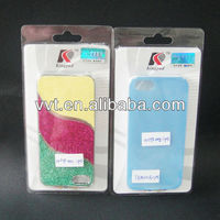 PET clear boxes for phone case packaging