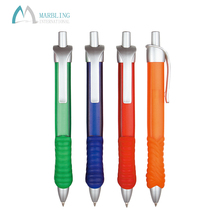 Marbling MPL379F Promotional Blue Plastic Pen Private Label Novelty Square Ballpoint Pen
