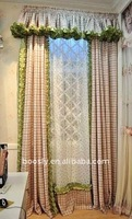 aluminum track cloth curtains indoor window coverings