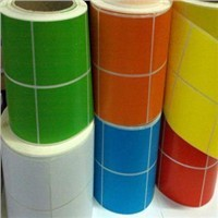 frozen full color water resistant stickers blank label paper material wholesale