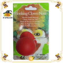 Party Red Honking foam Clown Nose