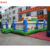 Christmas inflatable funcity with climbing combo inflatable playground