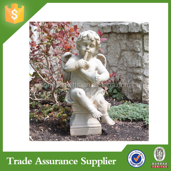 Customized Handmade Large Garden Decoration Angel Statue Miniature Figurine