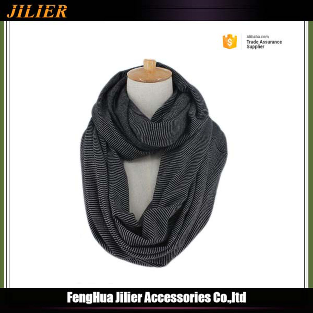 Wholesale Knitted Warmer Christmas Infinity Circle Loop Shawl Scarves