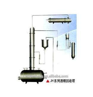 Stainless steel alcohol distillation equipment with metal packing