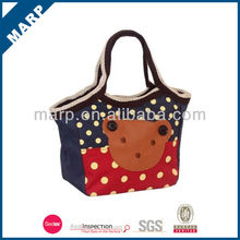 2014 special fashionable wholesale plain canvas tote bags