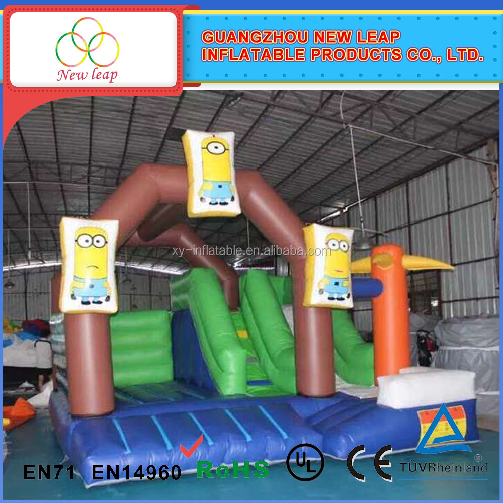Hot sale bouncy castle, inflatable minions bouncy castle, minions bounce house for sale craigslist